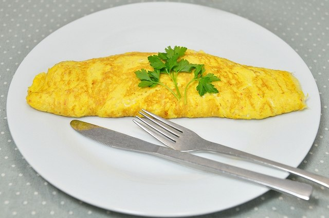 得ワザ!卵1個でできる厚さ5cm超ふわふわオムレツの作り方