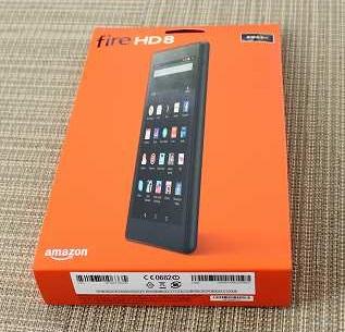 アマゾンのFireHD8タブレットが新しくなったので購入してみた!