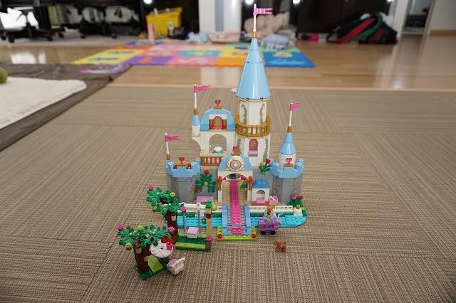 レゴディズニープリセスシンデレラ城を作ってみた!